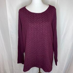 Lane Bryant Plus Size Hi-Low Sweater Tunic